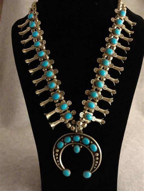 how to make indian jewelry navajo squash blossom turquoise necklace american