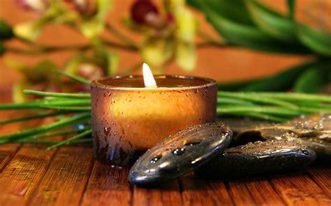 imagenes zen con velas vela y piedras zen fondos de pantalla gratis