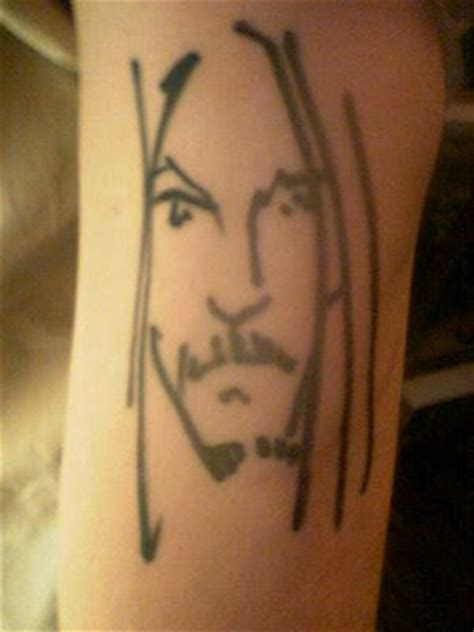 johnny depp chest tattoo hot photo bikini johnny depp chest tattoos
