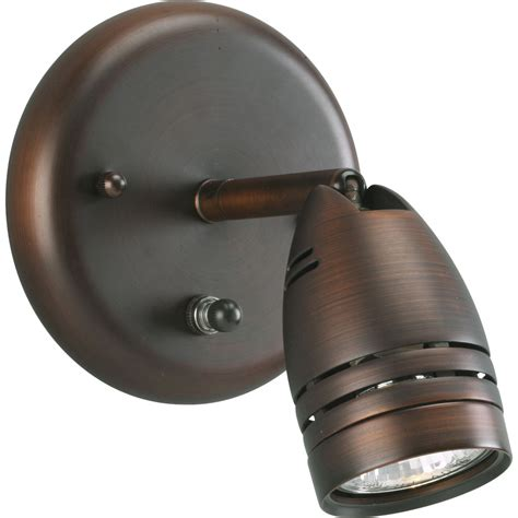 Spotlight Light Fixtures Progress Lighting P6154 174wb Directional Wall Mount Spotlight Fixture