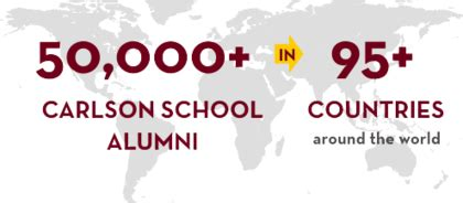 Carlson Mba Course Schedule by Mba Caign Connect Carlson School Of Management