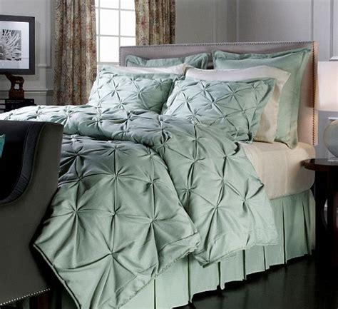 sage bedding vern yip faux linen comforter set