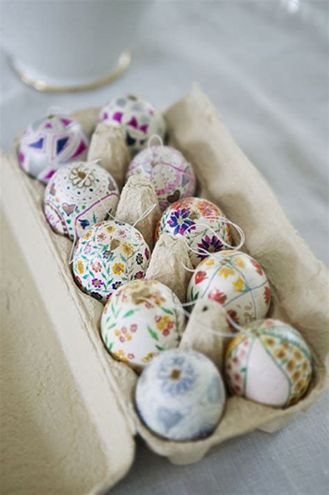 decorative easter eggs easter egg decorating ideas for your easter table