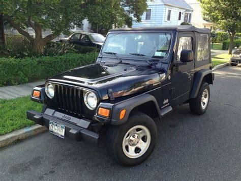 Used 2006 Jeep Wrangler Sell Used 2006 Jeep Wrangler Se Sport Utility 2 Door 2 4l