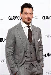 Model behaviour david gandy did his best blue steel impression as