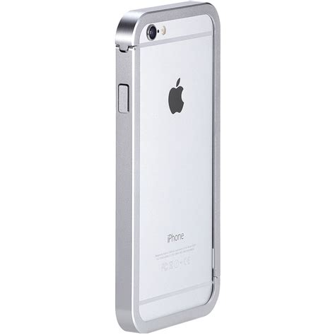 h iphone 6 just mobile aluframe for iphone 6 6s silver af 268 si b h