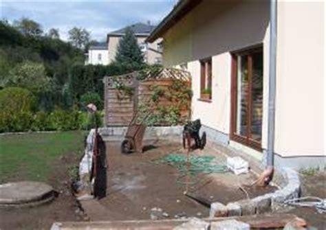 ideen im garten hakelberg terrasse selber bauen unterbau terrassen nicht zu klein