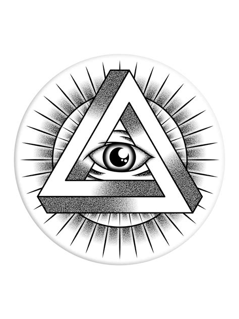 all seeing eye in the all seeing eye popsocket phone stand and grip buy