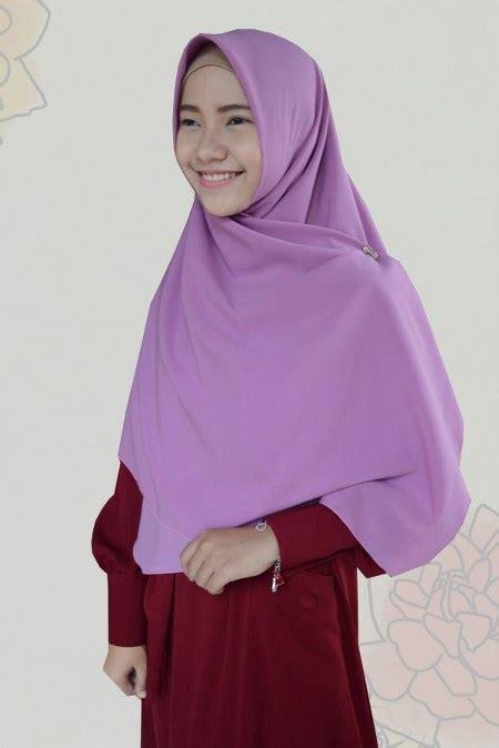 Amirah Syari khimar kerudung syar i yang simpel dan elegan masa kini