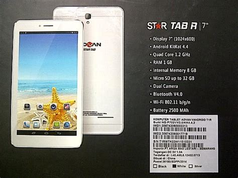 Tablet Advan 600 Ribuan tablet 800 ribuan ram 1gb advan t1r terbaru