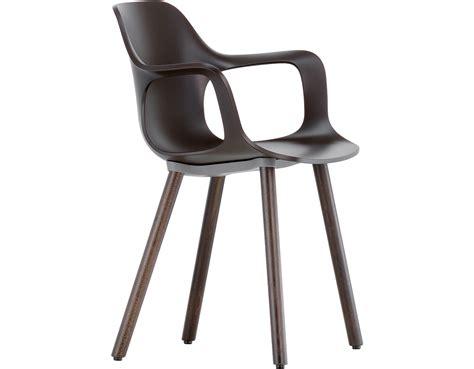 vitra armchair hal armchair wood hivemodern com