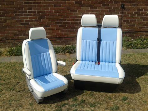 Vw T4 Seat Upholstery by T4 Upholstered Front Seats And Rib Vdub Trimshop