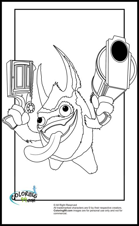 skylanders magic element coloring pages team colors