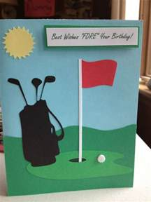 25 best ideas about golf birthday cards on golf cards masculine cards and mens