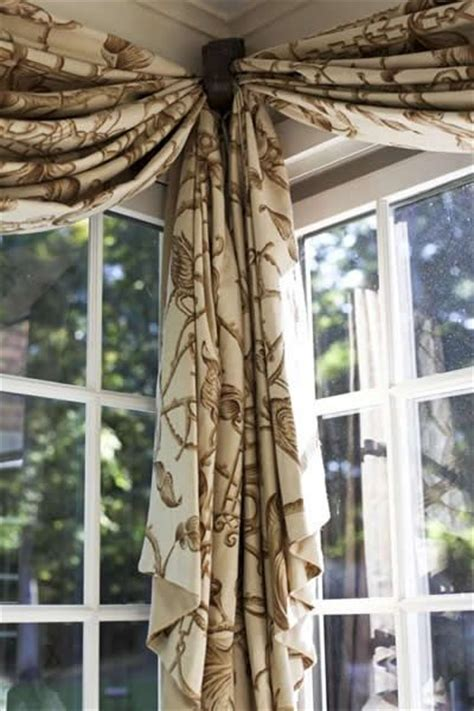 door windows corner window treatment ideas for 1350 best images about window treatments on pinterest