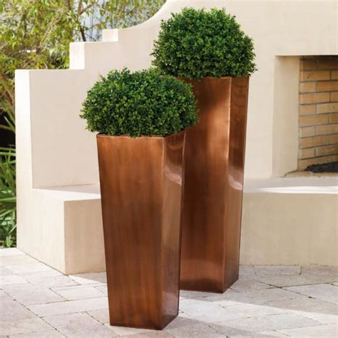 Column Planters by Column Planter Grandin Road