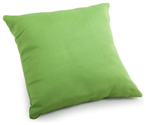 Large Decorative Pillows For Zuo Modern Laguna Large Pillow Green Modern Decorative