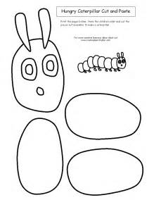 The Hungry Caterpillar Templates by Cut And Paste Hungry Caterpillar