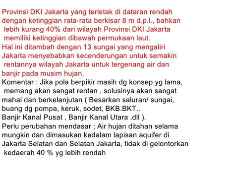 Air Di Jakarta air di kota jakarta bpk fatchy jongforum