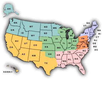 Sections Of Usa by Maps Usa Map Sections