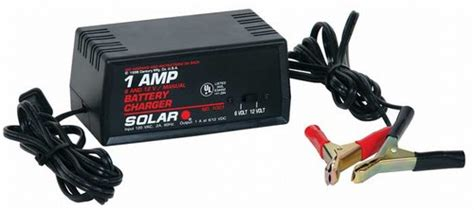 solar brand battery chargers 12 volt 1001 solar 1 6 12 volt battery charger