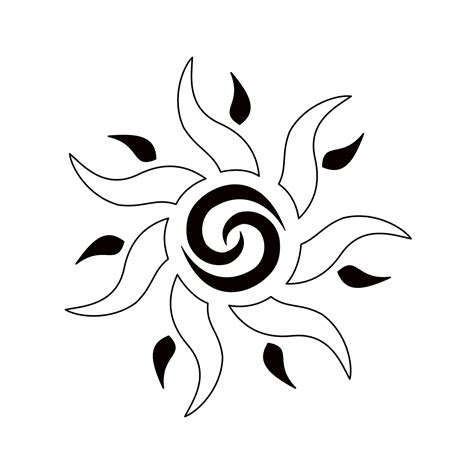 meaning of tribal sun tattoo tribes shape your dreams tattoos with meaning