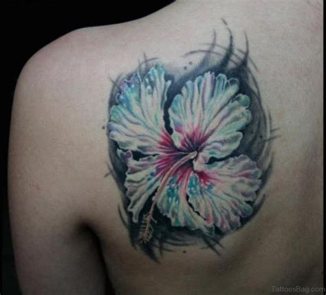 hibiscus tattoo on shoulder 51 classy hibiscus flower tattoos for shoulder