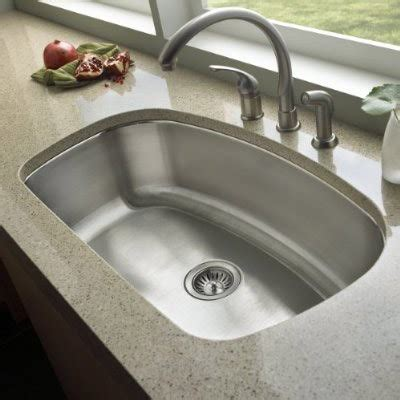 Bowl Undermount Stainless Steel Kitchen Sink by 32 Inch Stainless Steel Undermount Curved Single Bowl