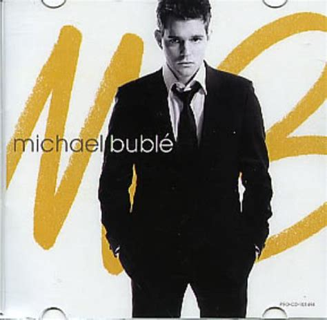 michael buble home us cd r acetate 327499
