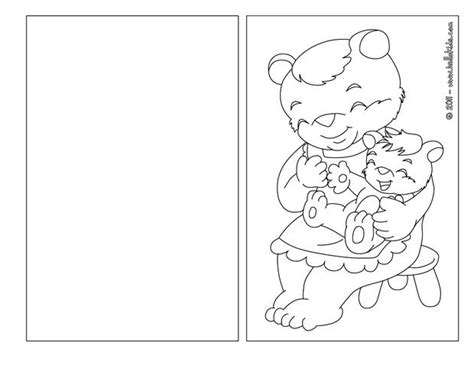 bear mom and baby coloring pages hellokids com
