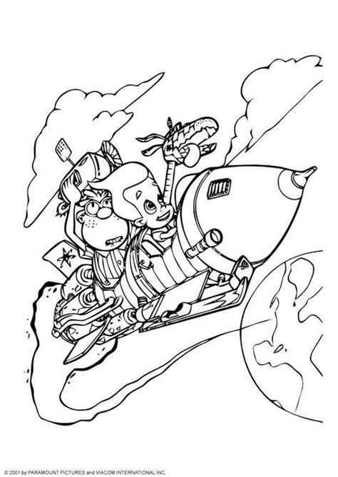 free nickelodeon coloring pages picture