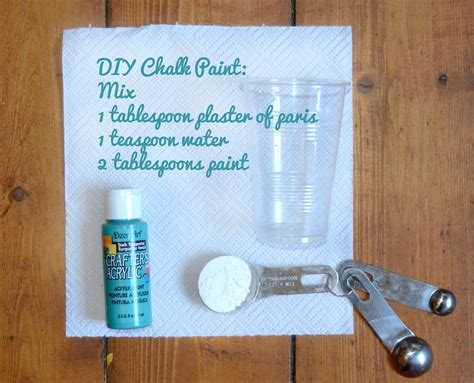 how to do chalk paint diy diy how to make chalk paint