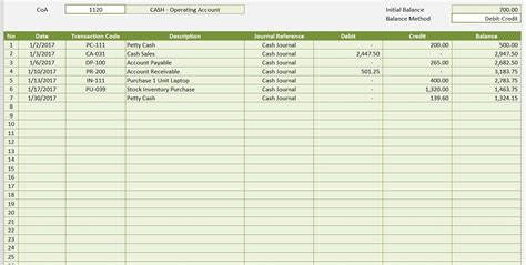 microsoft excel accounting template excel accounting ledger template accounting spreadshee