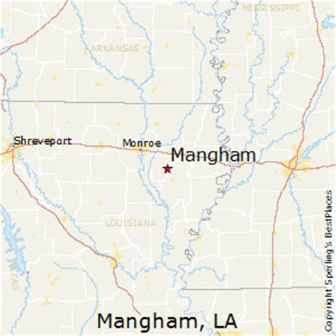 louisiana real estate map best places to live in mangham louisiana