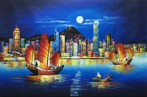paint nite a island city aliexpress buy sale painted modern knife