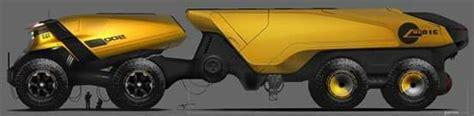 concept truck caterpillar carrier truck arthur martins