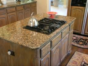 Stove In Kitchen Island 1111 Your Street Gas Stove Top