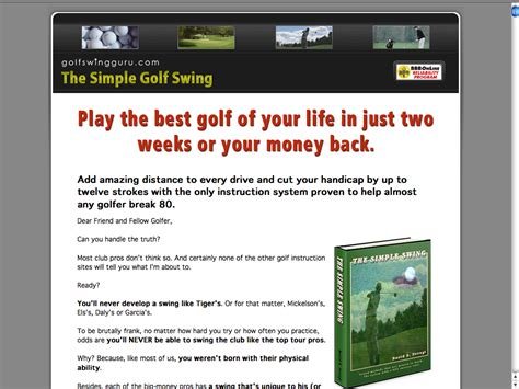 the simple golf swing review the simple golf swing