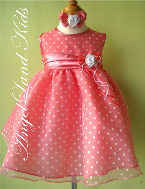 coral baby dress beautiful affordable toddler coral easter dresses