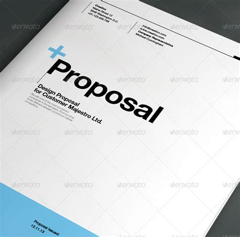 game design proposal template proposal by egotype graphicriver