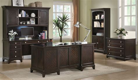 Garson Executive Desk Home Office Desk Set