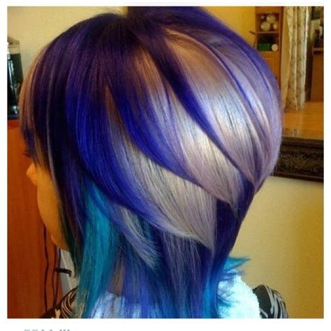 color pattern for short hair 30 dip dye hair patterns