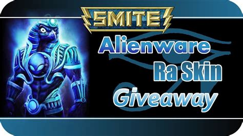 Alienware Giveaway Smite - smite release alienware ra skin giveaway celebrate with us german youtube