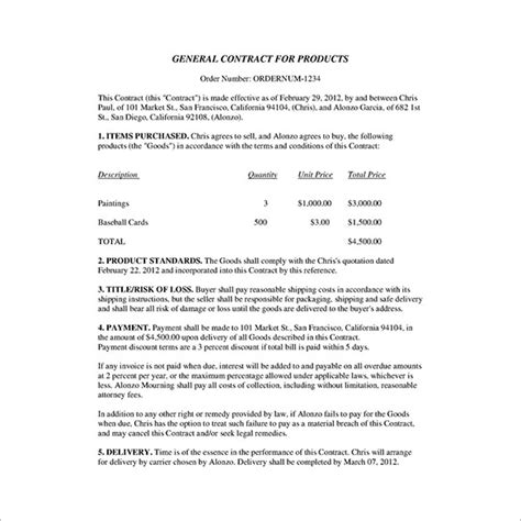 Business Agreement Letter Pdf How To Write A Business Contract Template Boblab Us