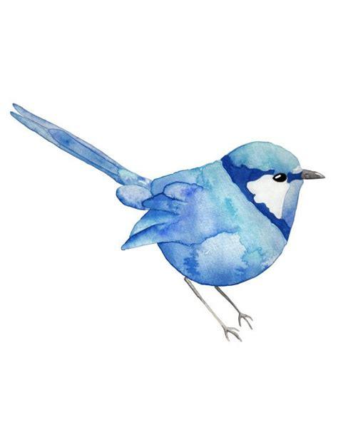 blue wren tattoo designs original lake landscape free u s shipping wren