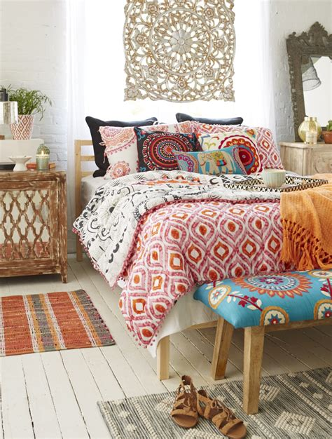 bedding and home decor boho d 233 cor takes you around the world all in one room