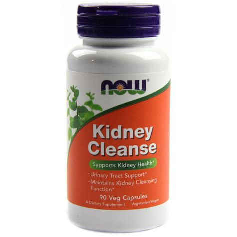Food For Kidney Detox by Now Foods Kidney Cleanse 90 Vcapsulesules Evitamins