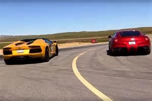 Lamborghini F12 A F12 And Lamborghini Aventador