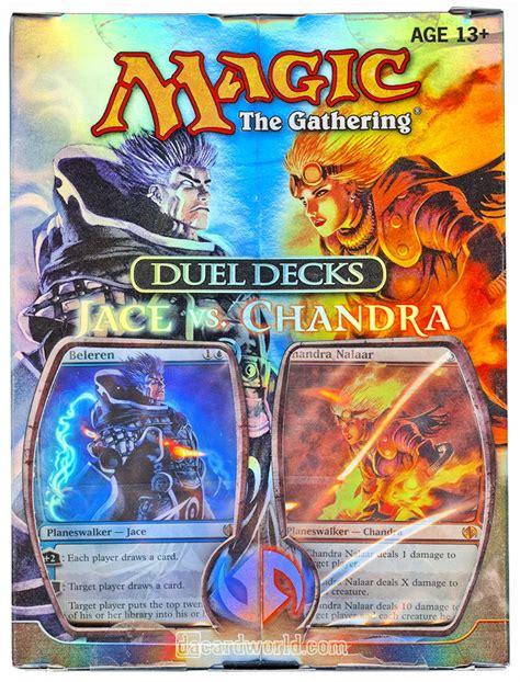 mtg duel decks magic the gathering jace vs chandra duel deck da card world