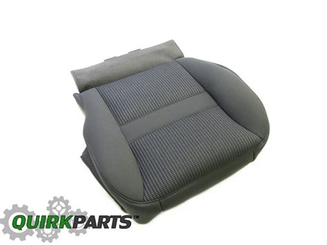 dodge ram seat upholstery oem 2006 dodge ram 1500 2500 3500 front drivers bottom seat